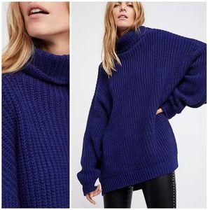 Free People Sweaters Swim Too Deep Pullover Sweater Poshmark